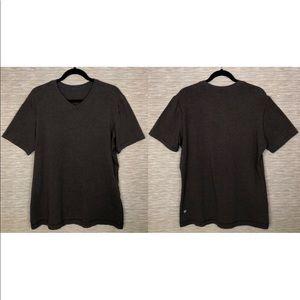 Lululemon 5 Year Basic Brown Heathered T Shirt